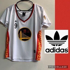 ADIDAS golden state warriors IGUODALA 9 shirt XL